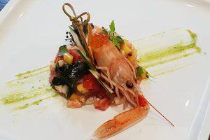 Ristorante Sushi - Scampi Crudi