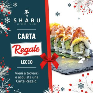 Cena Regalo Sushi Lecco